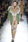 abrigos mujer Missoni verdes